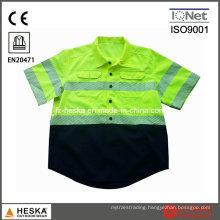 Heat Transfer Broken Tape High Visibility Reflective Shirt