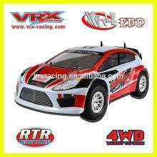 1/10 rc modelo eléctrico accionado juguete de coche de rally