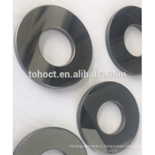 Surface de polissage de miroir SSIC / RBSIC bagues d'étanchéité bague de douille en céramique