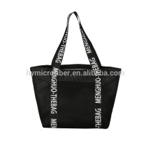 Saco barato personalizado da malha das mulheres da fábrica com saco interno