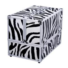 Aluminum cosmetic Storage Box, Professional Beauty Case