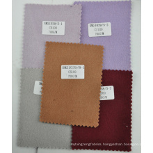 Quality wine heavy double sided cashmere fabric 700g/m stock