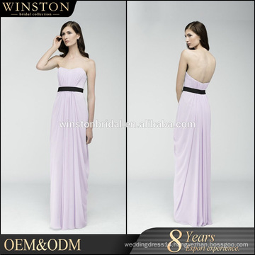 Professional China factory empire waist evening dress