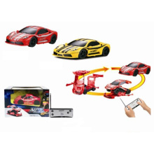 1: 53 Remote Radio/C Deformable Car Toy with 4 Function