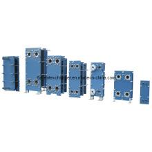 Intercambiador de calor de juntas para refrigeración