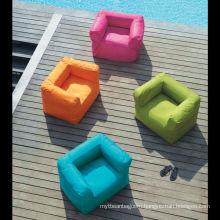 U shaped customized lounge kids bean bag sofa