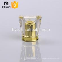 bouchon transparent surlyn pour bouteilles de parfum