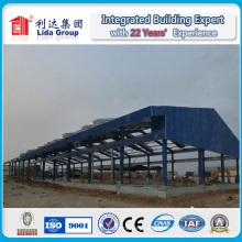 Aço do quadro do espaço da armação de aço do armazém da oficina da fabricação do aço da estrutura
