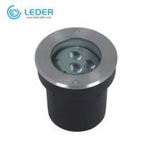 LEDER Domus Design Technology 6W LED Inground Light