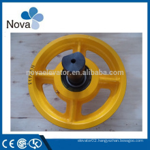 Elevator Traction Machine Sheave With Shaft