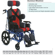 Comfortable Aluminum Wheelchair