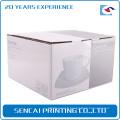 SenCai personnalisé Céramique vaisselle ondulé boîte de papier pour la vie quotidienne