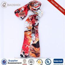 Marca de diseñador de seda de mujer bufanda de seda de la fábrica de seda de hangzhou de seda