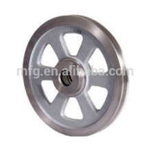High quality custom aluminum pulley wheels with bearings