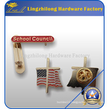 Factory Produced Gold Plated School Badge
