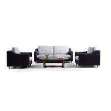 Tecido da sala de estar da Europa do Norte 1 + 2 + 3 Sofá