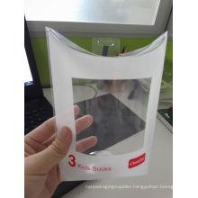 Custom printed clear plastic PP/PVC/PET pillow box (pillow shape package)