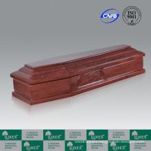 Popular Cheap Italian Style Wood Funeral Coffins&Caskets