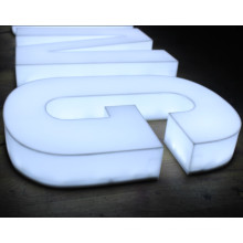 Full Light LED Acrylic Sign Letters for Outdoor