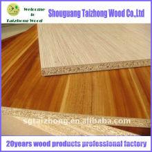 Farbe und Holz Korn Melamin Spanplatte