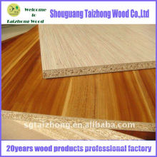 Color And Wood Grain Melamine Chipboard