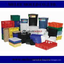 Crate recipiente plástico Caixa de armazenamento Mold