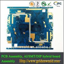 El fabricante del PWB en el tubo de la luz ultravioleta de China llevó el pcb t8 tube9.5w