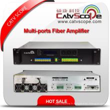 High Power 1550nm 2u Multi-Ports Erbium Ytterbium Co-Doped Optical Amplifier E / Ydfa