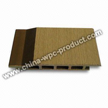 Panel compuesto plástico de madera de la pared