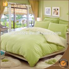Têxteis de cama impressos em conjunto de cama, conjunto de cama de algodão