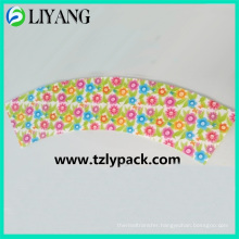 Small Flower Overspread Design, Iml for Plastic