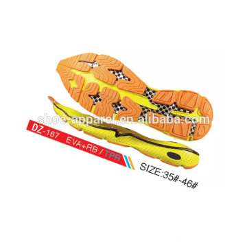 rubber sole for running sport shoes,shoe outsoles