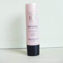 Tubo de plástico para crema de Bb, tubo de empaquetado cosmético