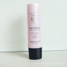 Tube plastique pour Bb crème, Tube d'emballage cosmétique