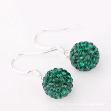 wholesale fashion shamballa basketball wives seed bead earrings