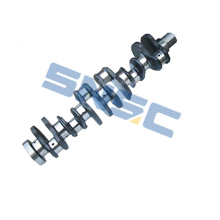 cummins spare parts 3929037 Crankshaft 6BT5.9