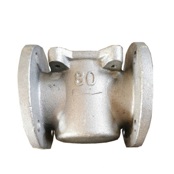 OEM High Density stainless steel flange Casting  valve body part