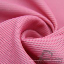 Veste imperméable à l'eau et au vent Dobby tissé DOT Jacquard 49% Polyester 51% Tissu intertexture blend-tissage en nylon (H008)