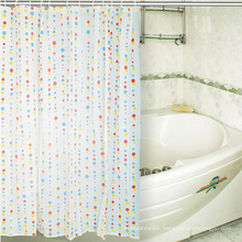 Hookless Printing Fabric Design PEVA Shower Curtain