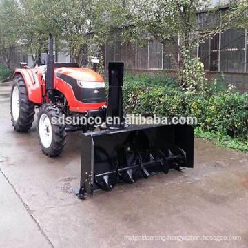 snow blower Machine on Tractor loader