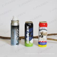 Aluminiumnebelsprühflasche für industrielle Aerosolverpackungen (PPC-AAC-038)