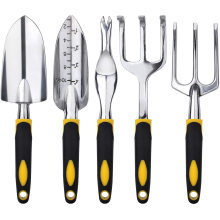 5 PCS kit de ferramentas manuais de jardinagem para serviços pesados