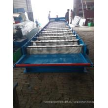 Máquina perfiladora de láminas de techo de acero en frío de color fabricada en China
