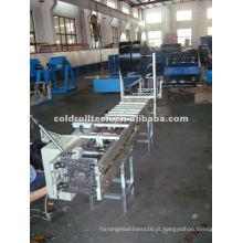 Máquina para fabricação de tubos quadrados