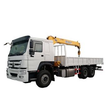 SINOTRUK HOWO 6x4 Cargo Truck With Crane