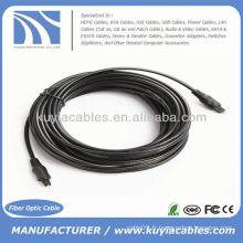 33FT 10M Digital Optical Fiber Toslink Câble audio OD 4mm