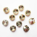 12mm Dome Studs com diamante enfeite, Nailhead Trim