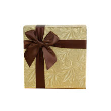 Wholesale custom Luxury candy ornament packaging Christmas eve favor chocolate gift box