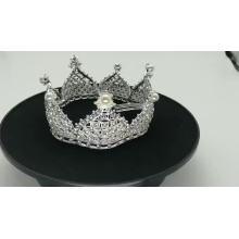 Handmade headwear princess wedding Jewelry Sets Rhinestone pageant full crown tiara for girls