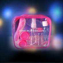 Novo kit de viagem personalizado de design PET PE PS conjunto conjunto de viagem diária conjunto conjunto de garrafas de viagem Preço de fábrica Fabricante